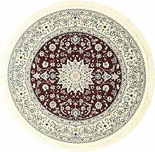 CarpetVista Teppich Nain Emilia, Kurzflor, Ø 150