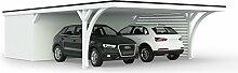 Carport mit Geräteraum 616 x 900 cm Easycarpor