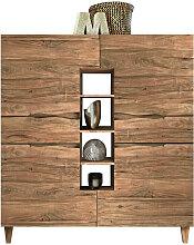 Carryhome HIGHBOARD Akazie massiv , Holz,