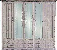 Carryhome KLEIDERSCHRANK 5-türig Kiefer massiv