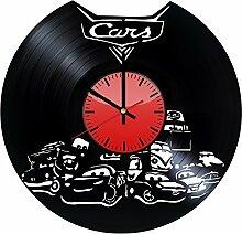 Cars 2 Pixar Wanduhr aus Vinyl – originelle