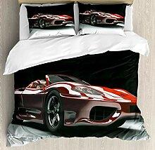 Cars 4-teiliges Bettbezug-Set,