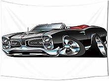 Cars Decor Gobelin die American Nostalgic Sport