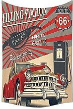 Cars Decor Wandteppich für Poster Stil Bild von