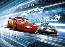 Cars - Disney Foto-Tapete Cars 3 Simulation - 254x184 - 4-teilig