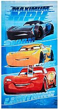 Cars Disney Maximum MPH Strandtuch, Badetuch,