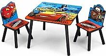 Cars Kleiner Tisch und Stühle (Rot/Blau)
