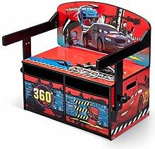 Cars Sitzbank & Schreibtisch mit Stauraum (Rot)