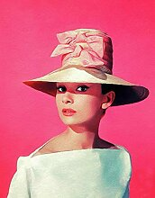 Carsilers DIY Diamantmalerei Audrey Hepburn