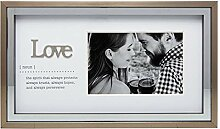 Carson 11464 Love Meaning Bilderrahmen, für Fotos