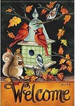 Carson Herbst Melodie Garten Flagge 46050