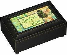 Carson Home Accents Schwestern/Mine Musik Box