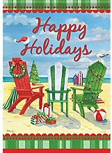 Carson Urlaub Strand Stühle Garten Flagge 45989