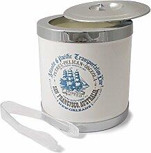 Cartaffini Clipper - Eisbehälter mit Deckel und