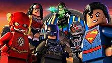 Cartoon 3d Wandbilder Batman Superman Flash