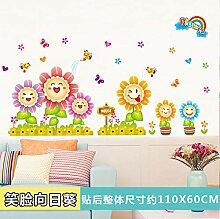 Cartoon Aufkleber Wanddekoration Kinderzimmer