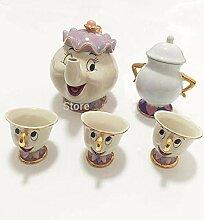 Cartoon Die Schöne und das Biest Teeset Mrs Potts