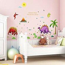 Cartoon Dinosaurier Kindergarten Schlafzimmer