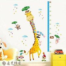 Cartoon Giraffe Höhe Lineal Kinderzimmer