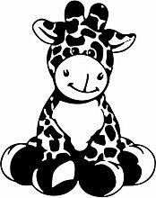 Cartoon Giraffe Kinder Vinyl Wandkunst Aufkleber