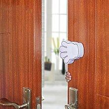 Cartoon Hand-Typ Anti-Grip-Tür-Karte,