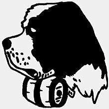 Cartoon Hund Pvc Wandaufkleber Aufkleber