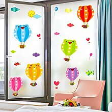 Cartoon Kinder Wandaufkleber Fensteraufkleber
