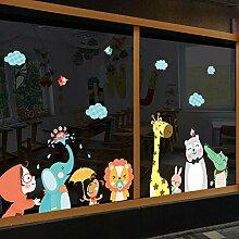 Cartoon Kindergarten Wandaufkleber Wand