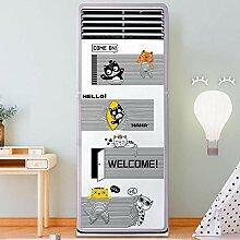 Cartoon Muster Klimaanlage Kühlschrank