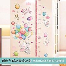 Cartoon niedlichen Ballon Baby Elefant Baby Höhe