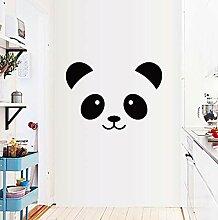 Cartoon Panda Smiley Kinderzimmer Schlafzimmer