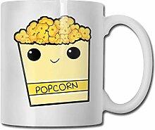 Cartoon-Popcorn-lustige keramische Kaffeetasse