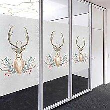 Cartoon Sichtschutz Fenster Film,wasserdicht