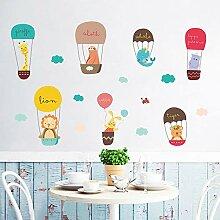 Cartoon tier schlafzimmer dekoration wandaufkleber