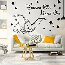 Cartoon Traum Big Little One Fly Dumbo Elefant