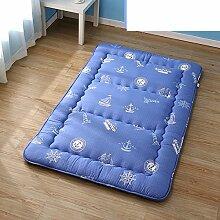 Cartoon verdicken sie tatami-matten matratze falten -C 100x200cm(39x79inch)
