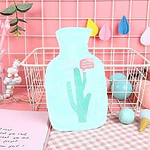 Cartoon Wärmeflasche Wassereinspritzung Cartoon