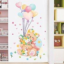 Cartoon Wandaufkleber Wanddekoration Aufkleber