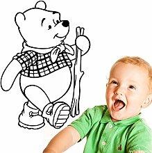 Cartoon Wandtattoo Winnie Pooh Vinyl Wandaufkleber