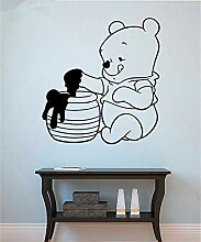Cartoon Winnie] The Pooh Wandtattoo Winnie