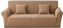 Carvapet Sofabezug 2 Sitzer Jacquard Sofahusse