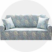 Carvapet Sofaüberwurf 2 Sitzer Sofabezug Couch