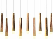 CARYS LED Pendelleuchte Holz Hängelampe