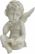 Casa Collection 11034 sitzender Engel mit Buch,