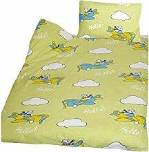Casa Colori Biber Kinder Bettwäsche 2 teilig