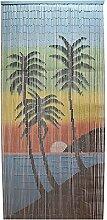 Casa Furnishings Türvorhang, Bambus, 90 x 200 cm,