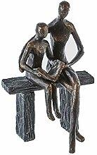 Casa große Skulptur Figur Design Skulptur Liebe