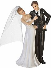 Casa Hochzeit Hochzeitsfigur Dekofigur Braut und