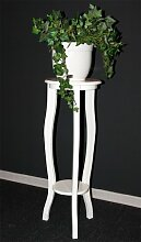 Casa Massivholz Blumentisch 100cm Blumenhocker
