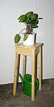 Casa Massivholz Fichte Blumenhocker Natur lackiert